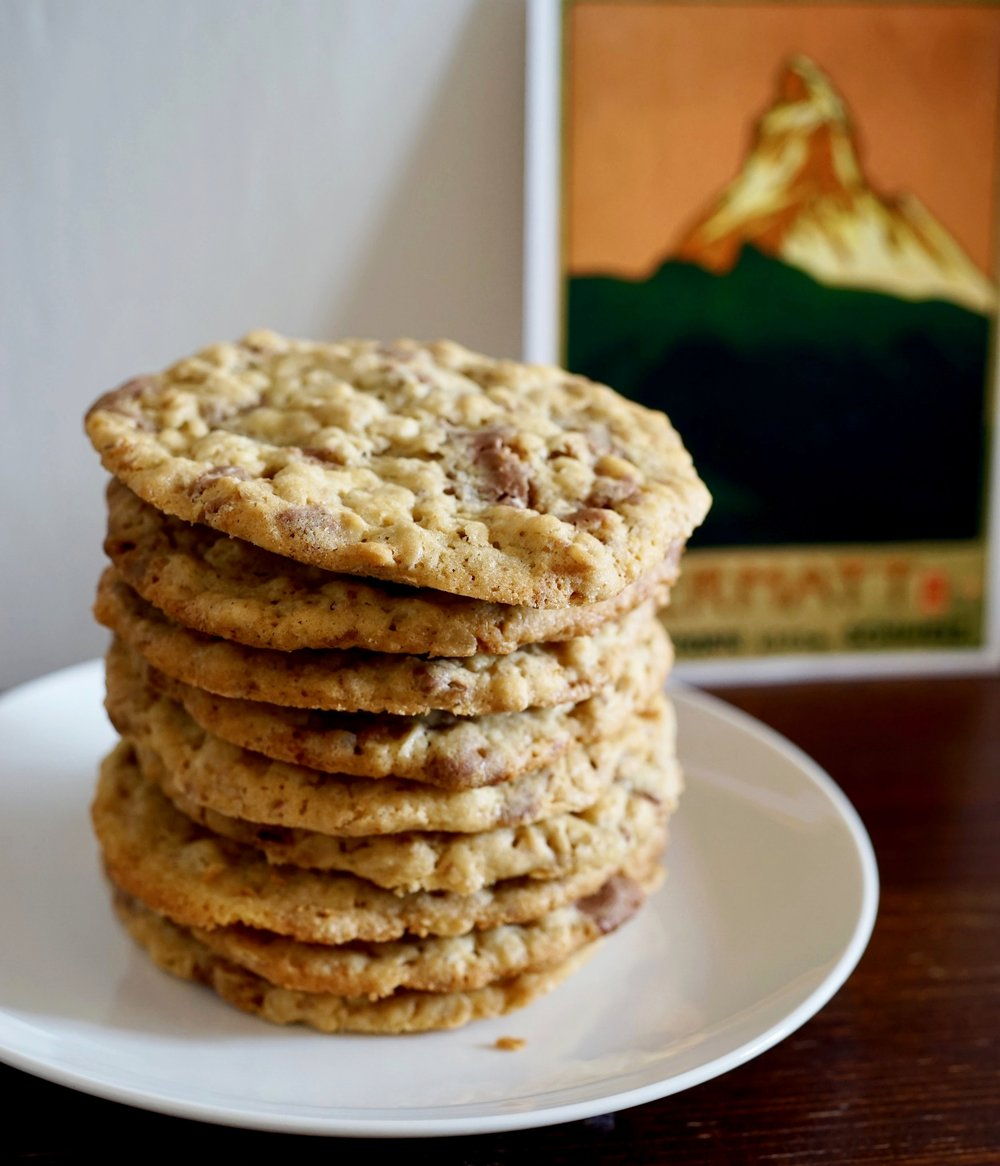 Want more Toblerone in your life? - Tobleroatmeal Cookies
