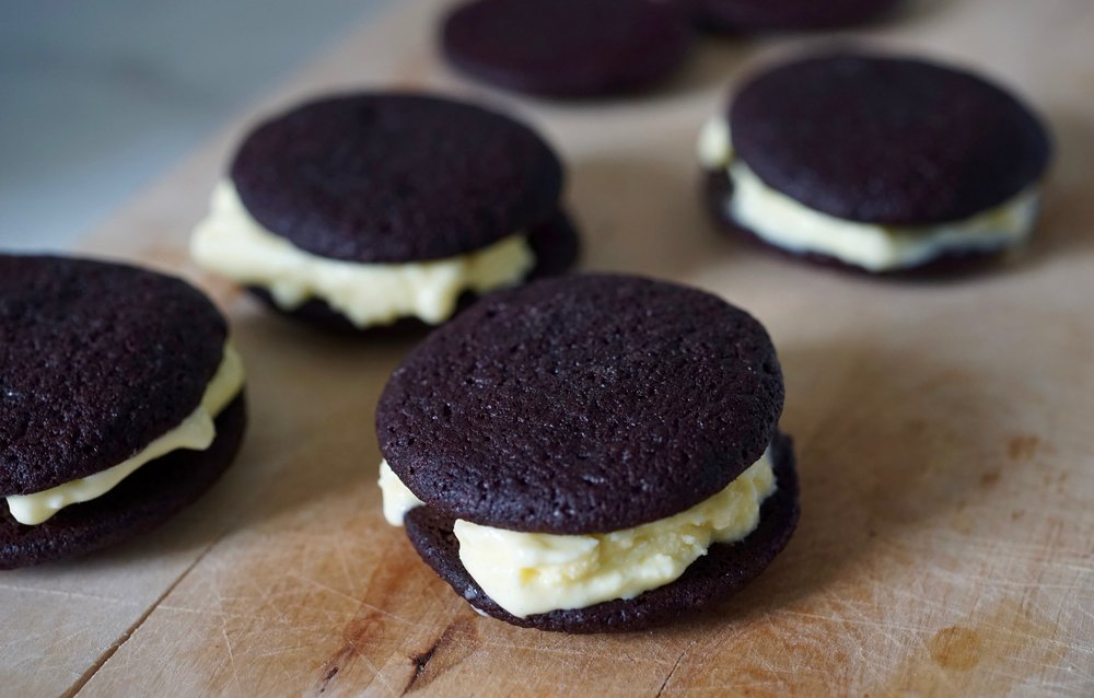Want more Ovo? - Ovomaltine Ice Cream Sandwiches