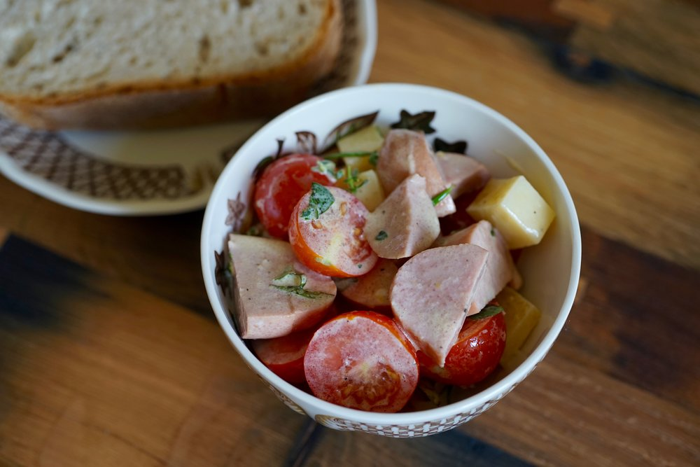 More Swiss summer salads? - Cervelat Salat