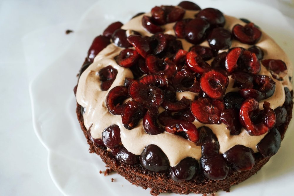 Wnat more cherries? - Black Forest Cake