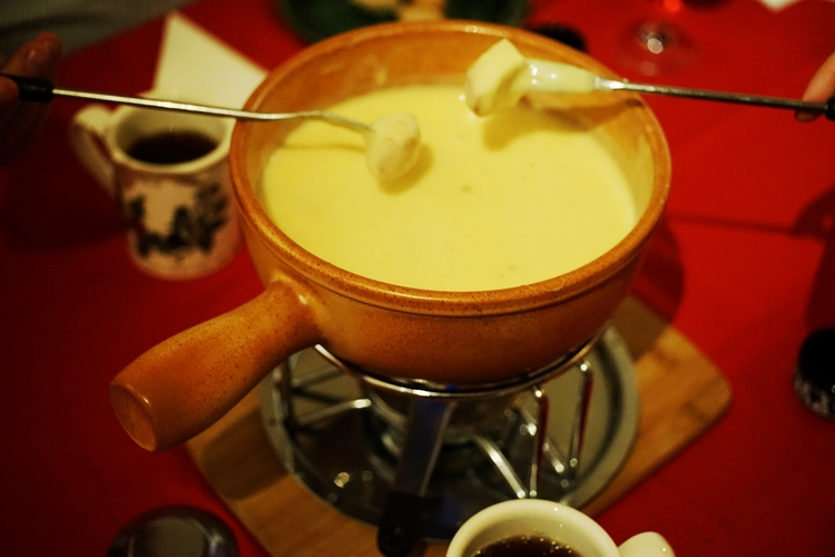 Another Swiss classic? - Cheese Fondue