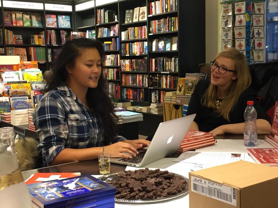 Bergli Books - Bubbly, Brunsli and books in Bern