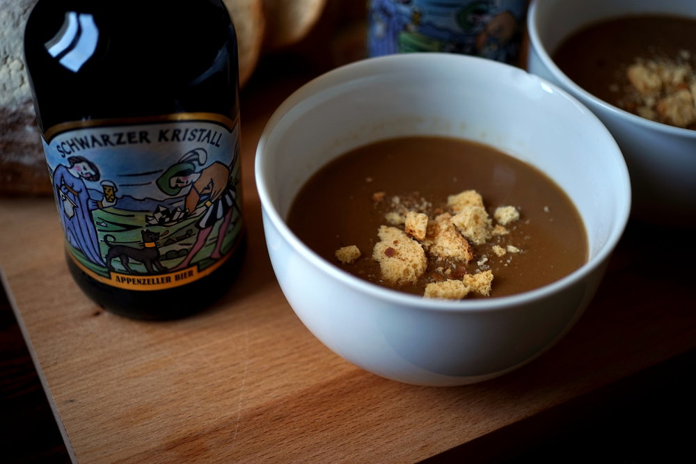 More soup? - Black Beer Soup