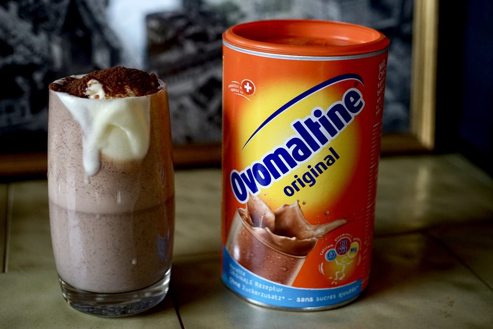 ovomaltine milkshake