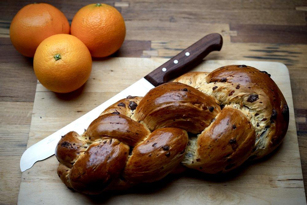 And now for a twist - Zopf à l'orange