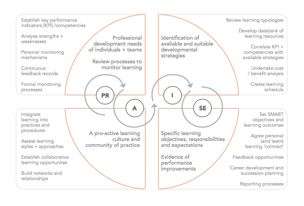 Fig 2.   Adopt the PR-Praxis – PRAISE – Professional Development Framework (PDF)