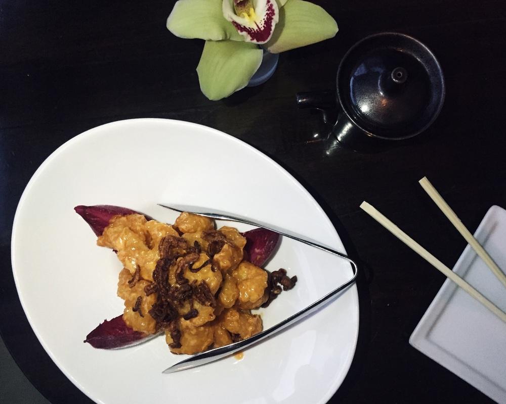 Creamy Shrimp Tempura