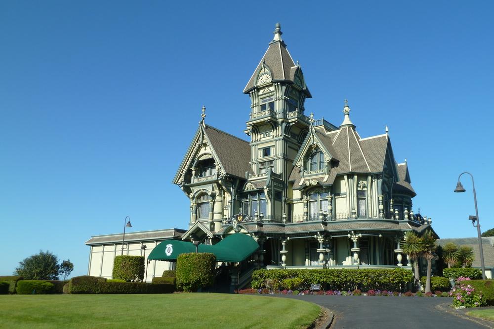 Eureka CA Carson Mansion