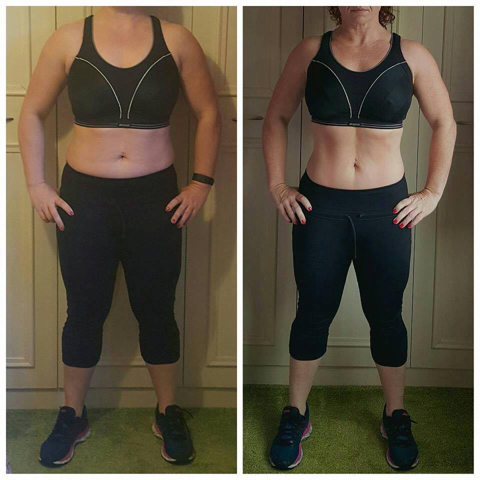 LAURA'S BEFORE & AFTER AFTER JUST 12 WEEKS*