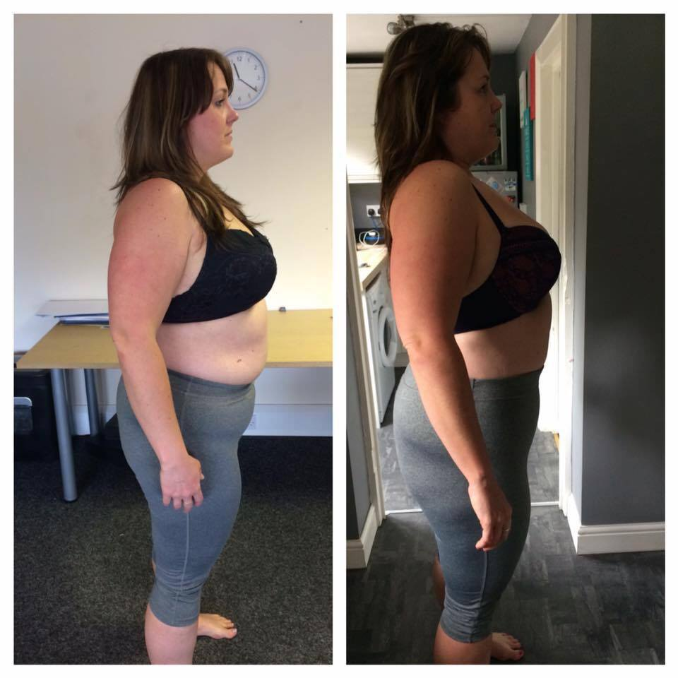 ANNA'S BEFORE & AFTER AFTER JUST 8 WEEKS*