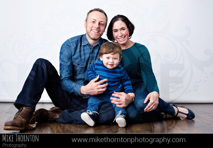 Family studio photography in Cambridge
