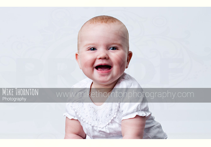 Cambridge baby photographer with studio