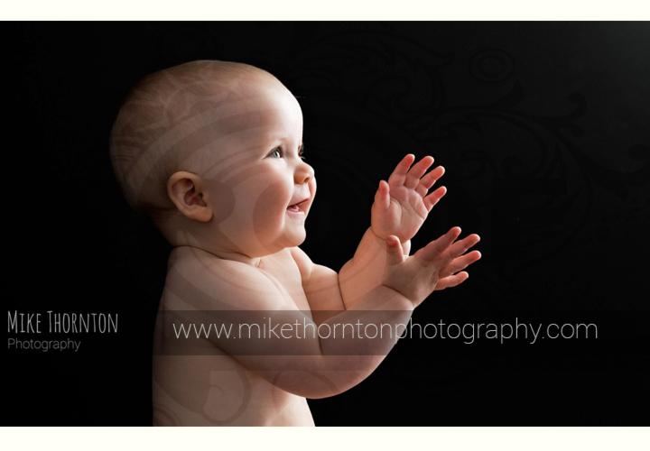 stylish baby photography