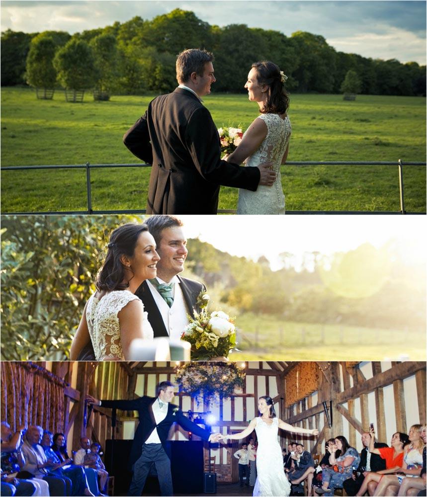 Surrey hills wedding photographer