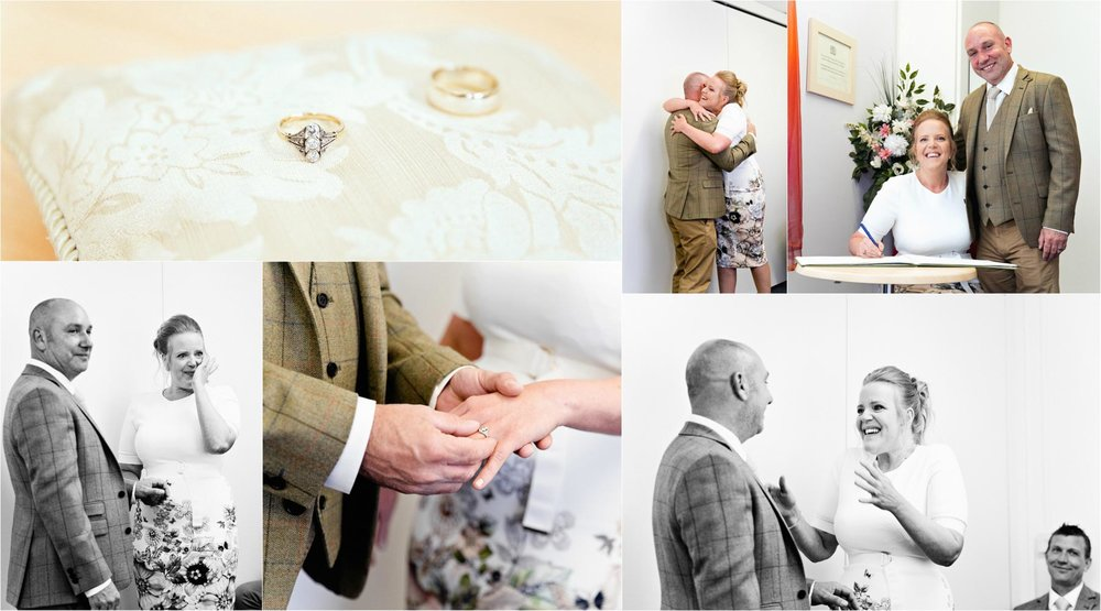 Peterborough registry office wedding