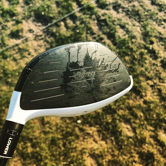 Ok I think I got it! This one looks like it came out the middle #happydays #golf #instagolf #practice #driver #taylormade
