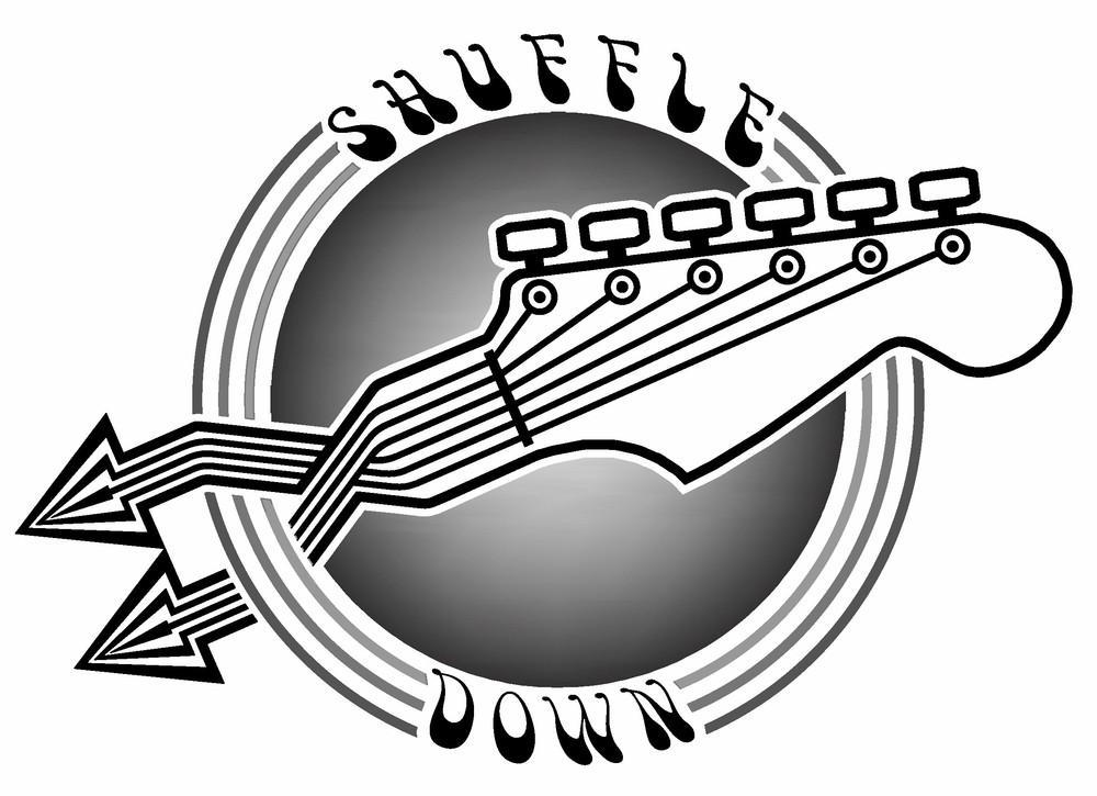 Shuffle Down Guitar Logo