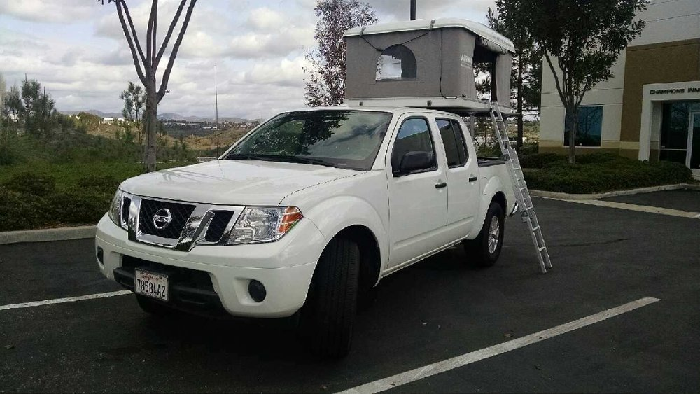 NISSAN FRONTIER & Nissan Frontier u2014 Roam and Board | Airstream RV Rental | Southern ...