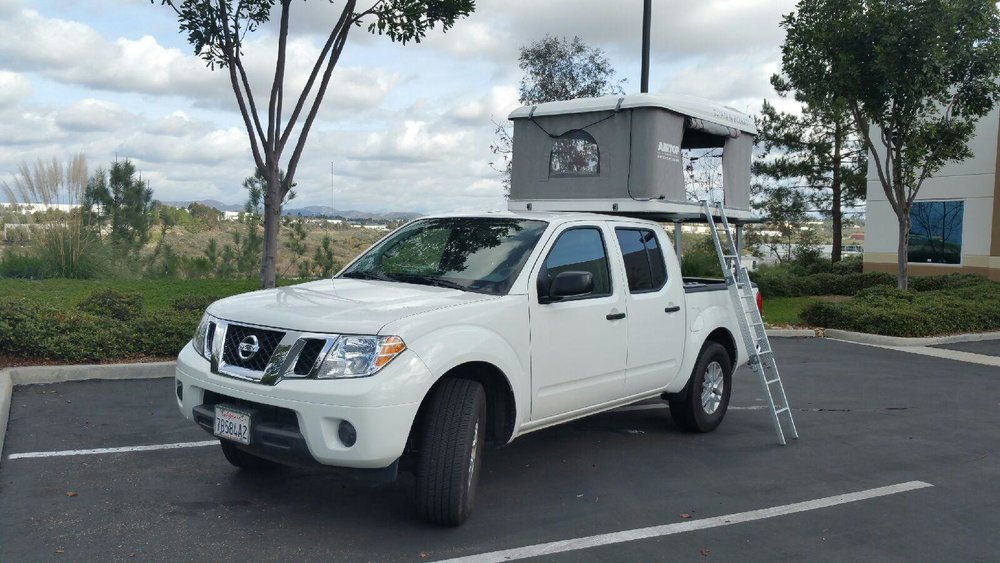 Nissan Armada Towing Capacity >> Nissan Frontier — Roam and Board | Airstream RV Rental ...