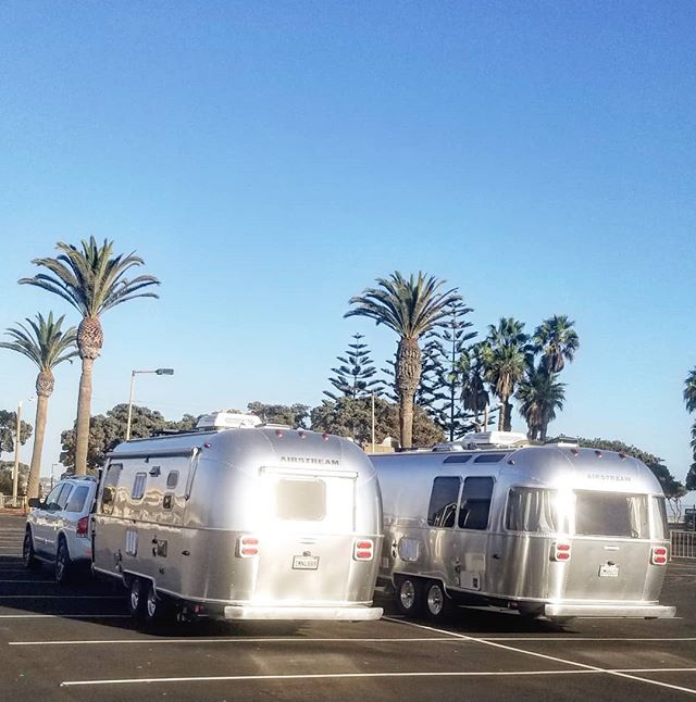 Shine bright like an Airstream! Ventura you're beautiful... #airstream #roamandboard #gooutside #camping #ventura #101 #socal #silverbeauty #goroam #california #beachlife #liveoutdoors #goexplore
