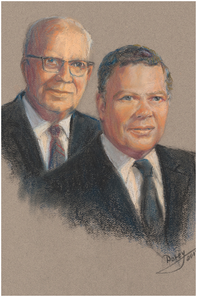 Clarence (C.J.) and William (Bill) Morrow