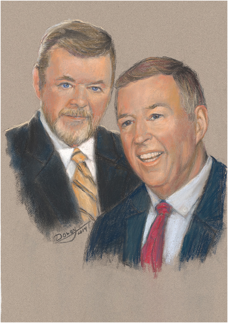 Stephen and Paul O'Regan