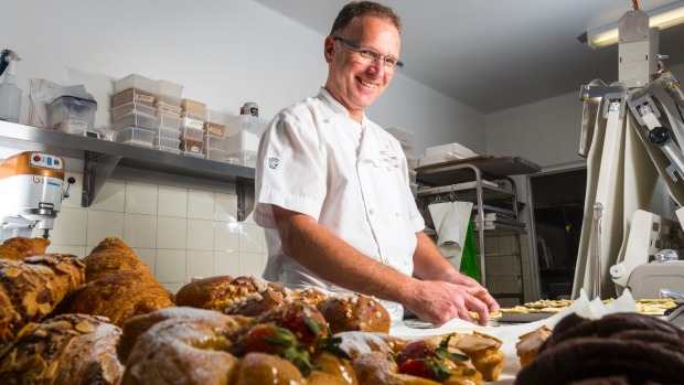 Peddling Pastry owner-chef Chris Edwards. Photo: Chris Hopkins