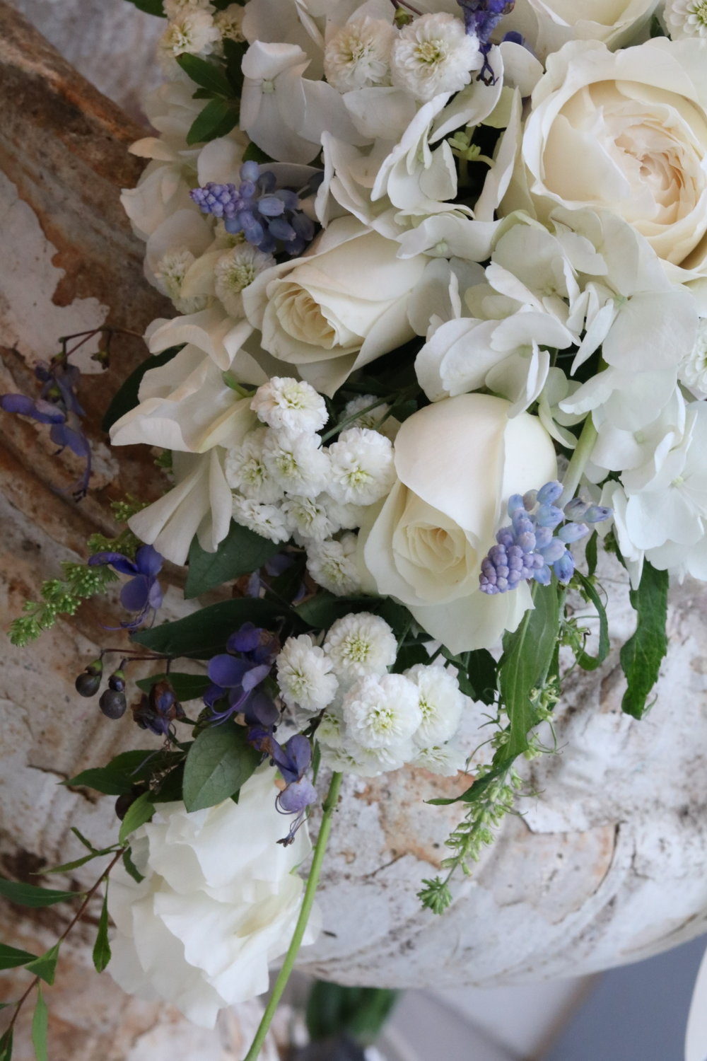 above image : shower bouquet from wedding flowers