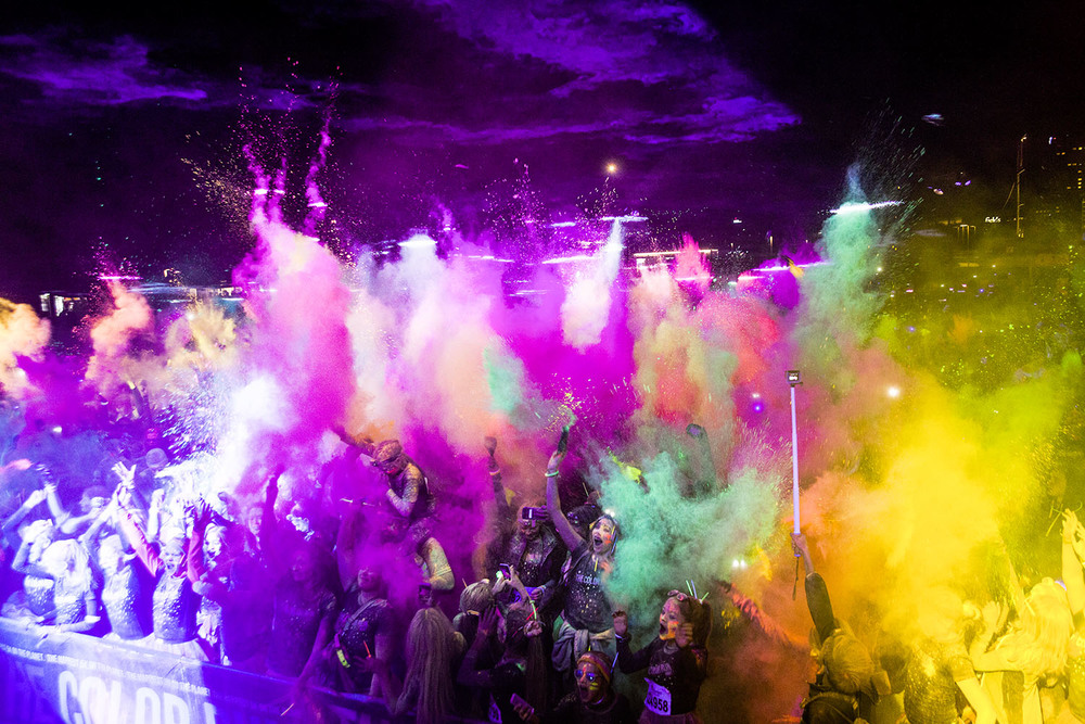 The Color Run Night, Copenhagen