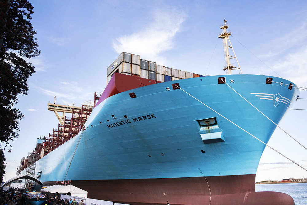 Majestic Maersk - The world's largest containership