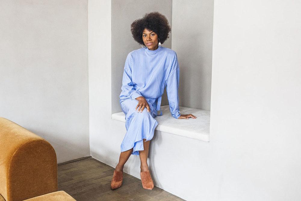 Designer Yvonne Koné