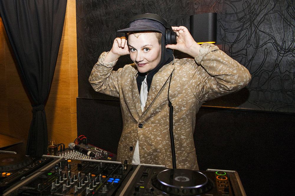 DJ Djuna Barnes