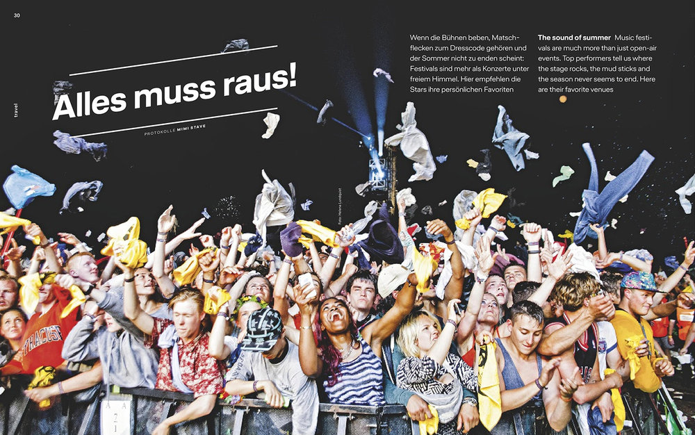 Major Lazer photo in Lufthansa Magzin  (5/18)