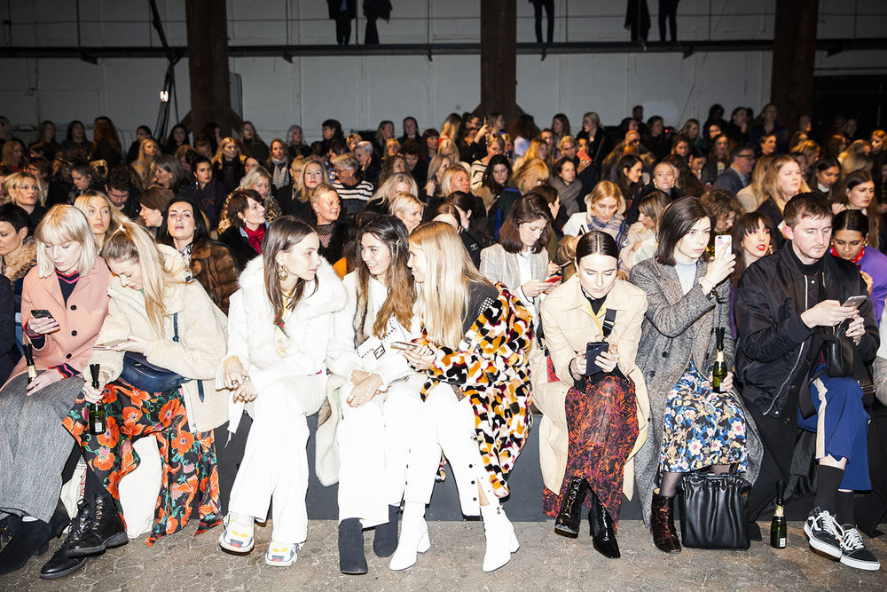 Frontrow at By Malene Birger AW18