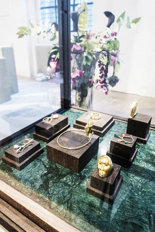 Olga Bonne Jewelry at the Jewellery Room - CFW AW17