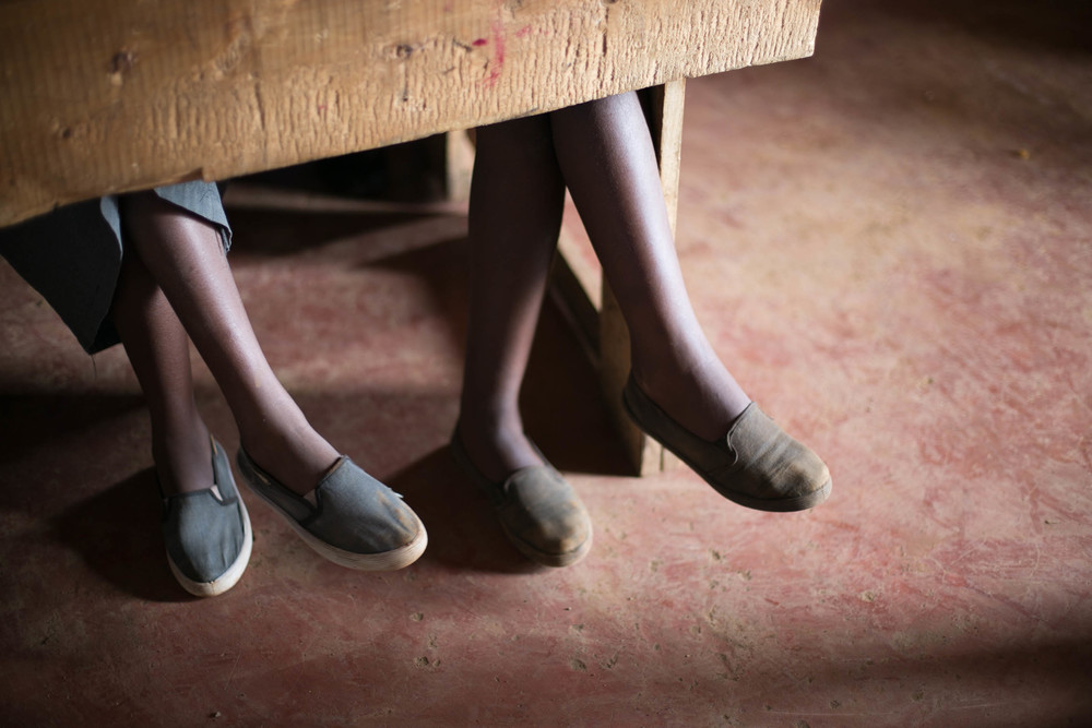 Starting at puberty, girls in Kenya are 2x more likely to drop out of school than boys.