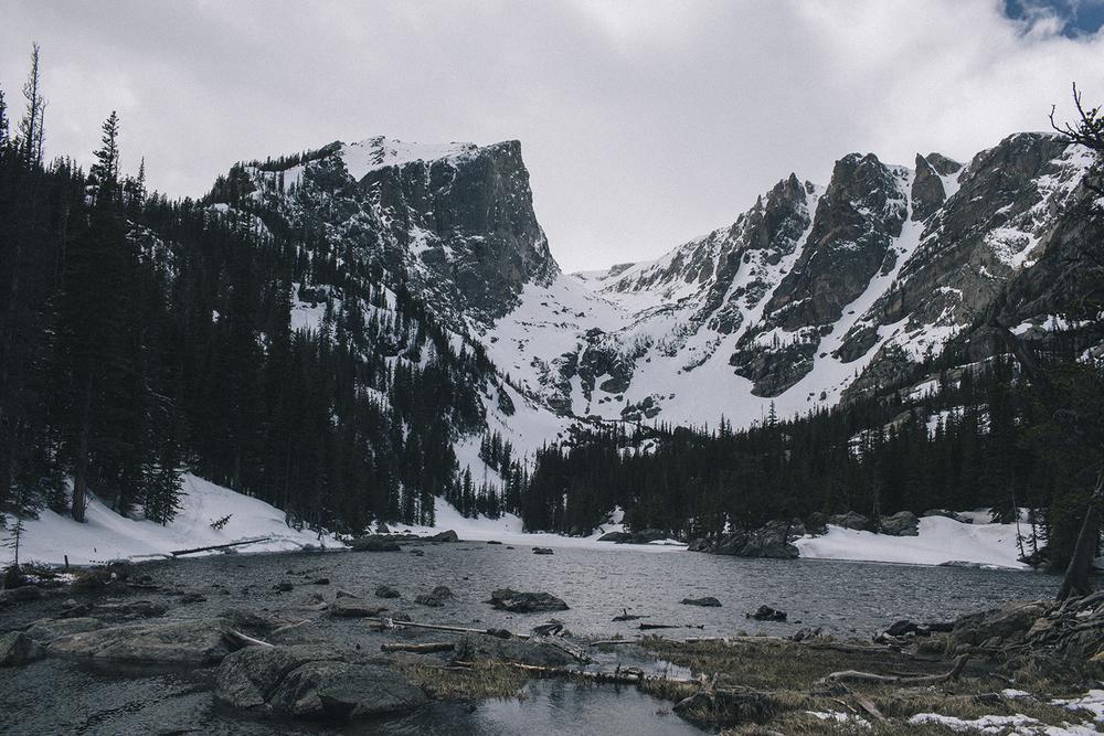 Dream Lake, Colorado.