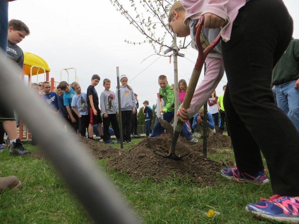West Bend_tree planting4_shovel closeup.JPG