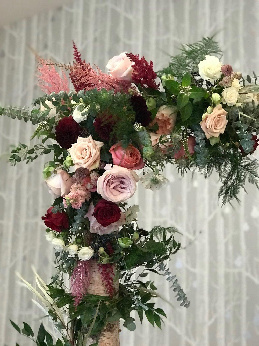 Birmingham Wedding Flowers Roses Detail