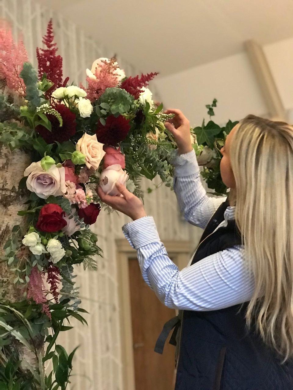 Birmingham Wedding Flowers Floral Arch