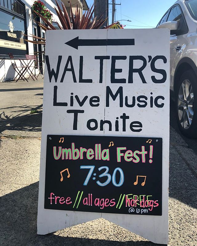 Get on down here! We are rocking the hill with local bands!
