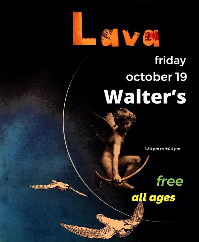 This Friday! Check us out! Lava at 7:30. Free. All ages. Rock on Ballard!