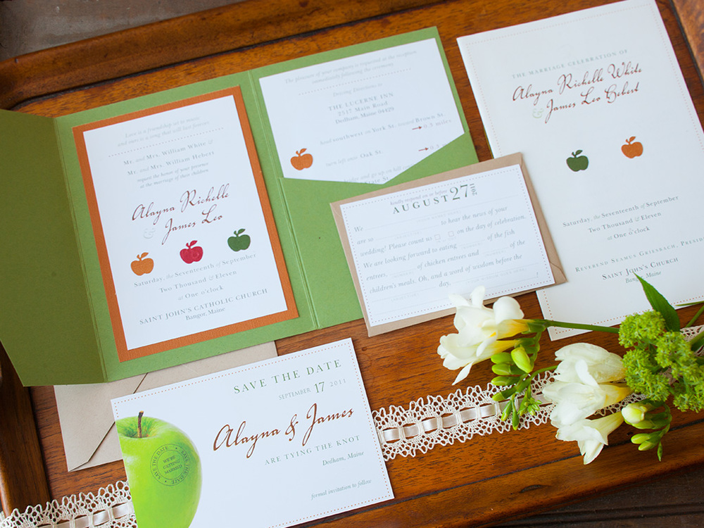 Rustic Fall Design Wedding Suite — Traditional
