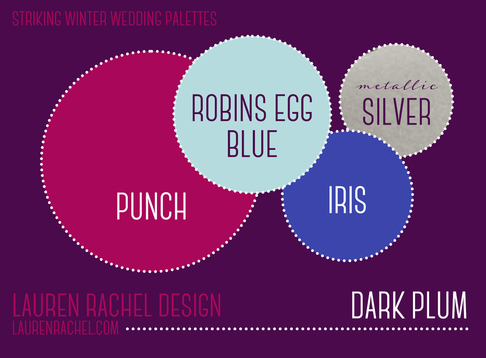 It Combines The Stability Of Blue But Incorporates Energy A Red Plum Is Very Versatile Color And This Palette Stands Out
