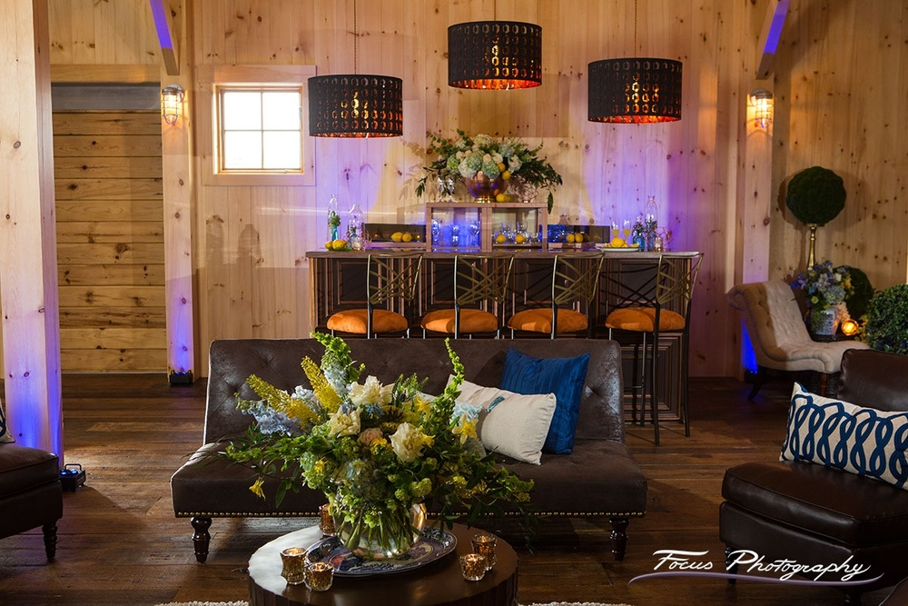 Blue Willow Wedding — Beech Hill Barn