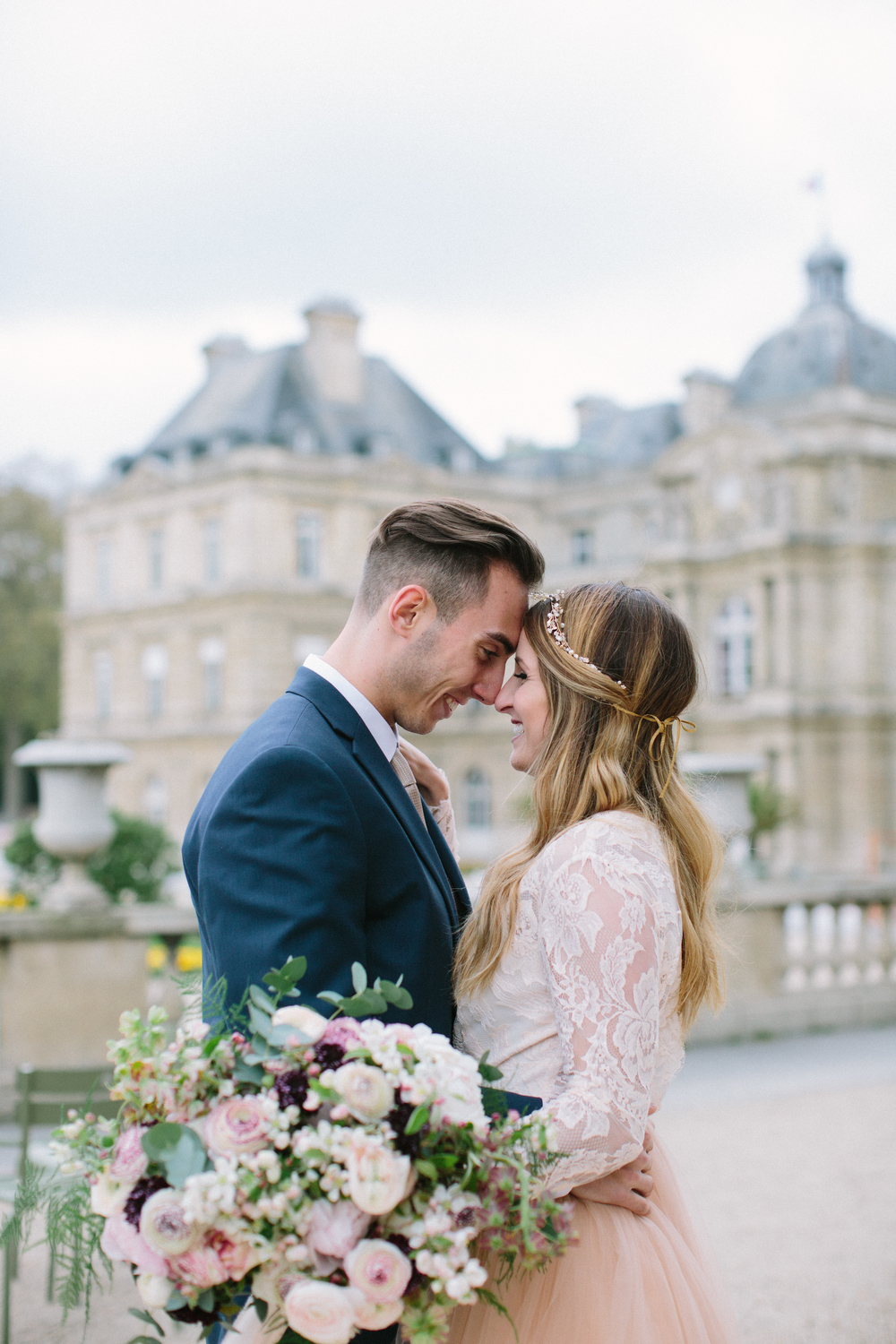 Amanda + Cole, Paris Styled Photoshoot