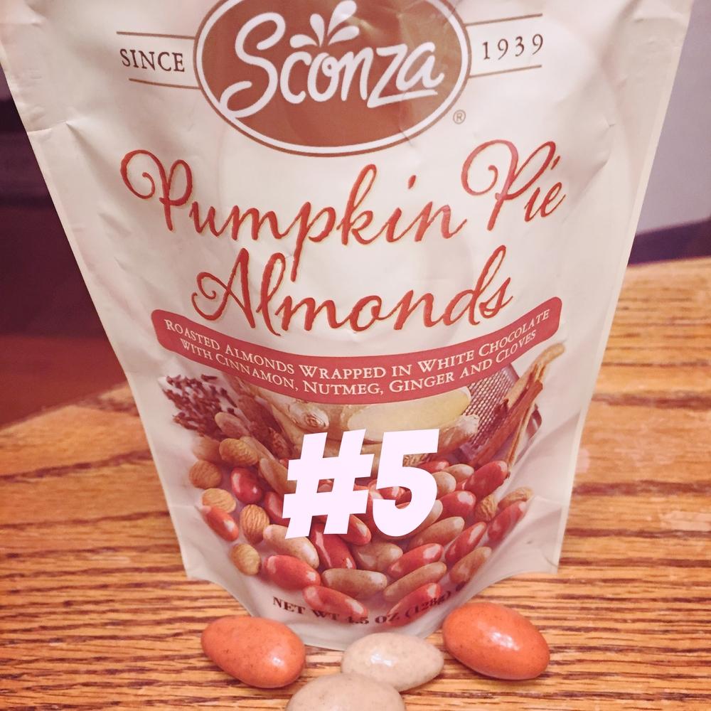 Sconza Pumpkin Pie Almonds