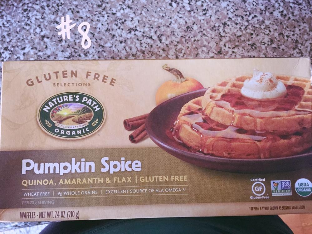 Nature's Path Organic Pumpkin Spice Waffles