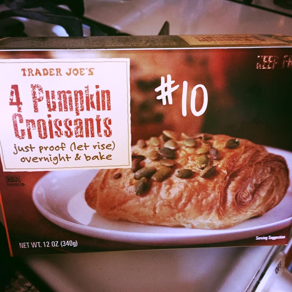 Trader Joe's Pumpkin Croissants