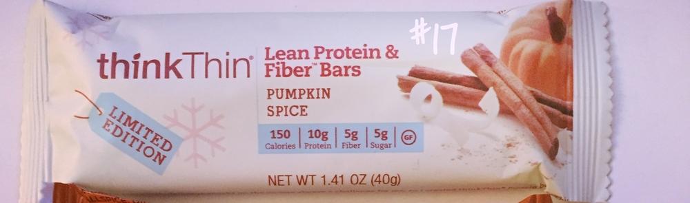 Think Thin Pumpkin Spice Protein Bar